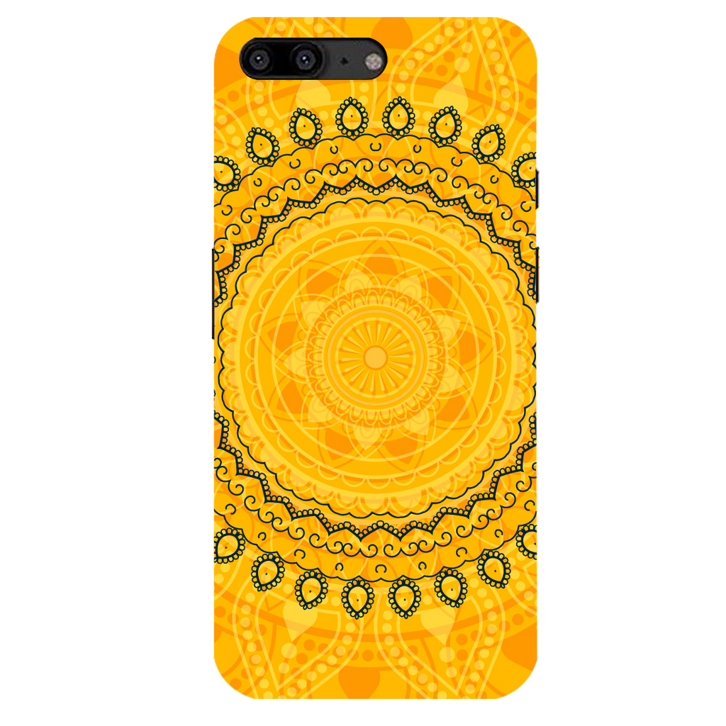 Circular Pattern OnePlus 5 Mobile Cover