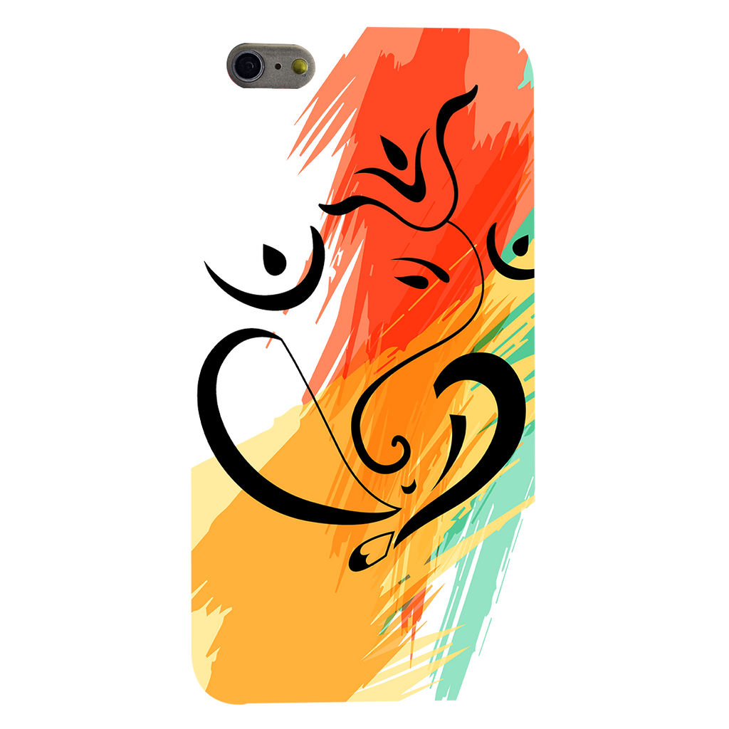 Colorful Ganesh Ji Apple iPhone 6 Plus Mobile Cover