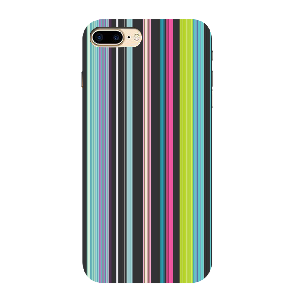 Colored Lines Iphone 7 plus Mobile Cover