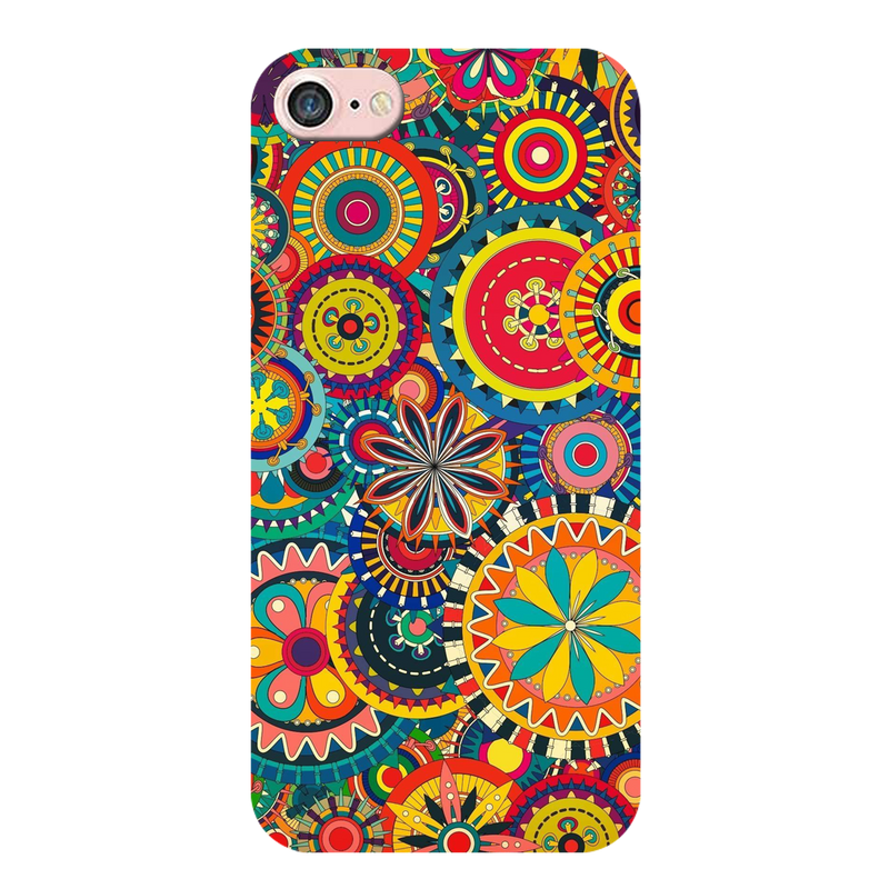 Colorful umbrella pattern Apple iPhone 8 Mobile Cover