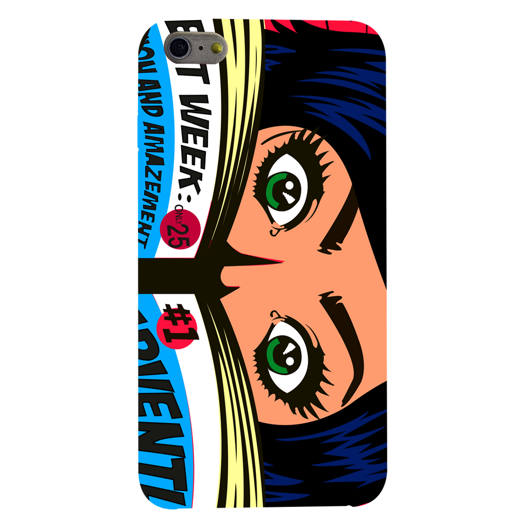 Comic girl Apple iPhone 6 Plus Mobile Cover