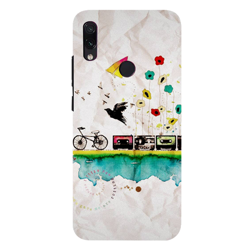 Cycle Redmi 7 Mobile Cover
