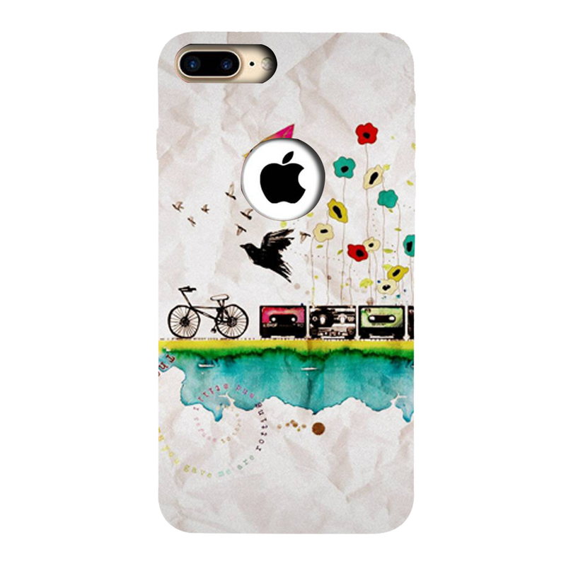Cycle Apple iPhone 7 Plus Mobile Cover