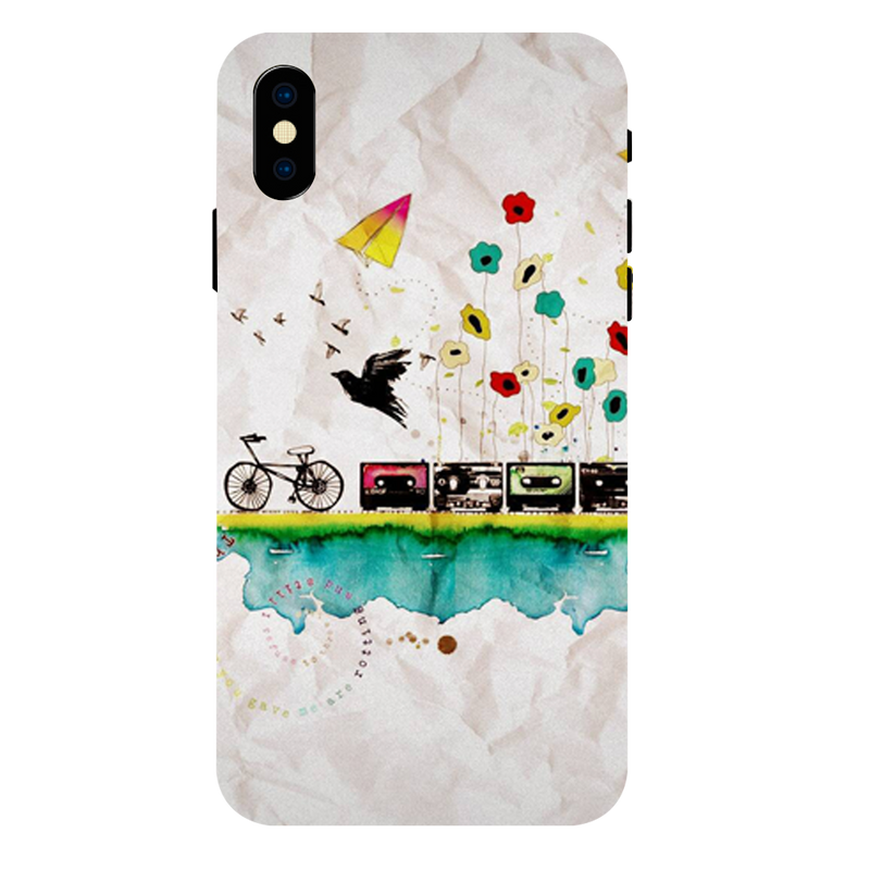 Cycle Apple iPhone XS Max Mobile Cover
