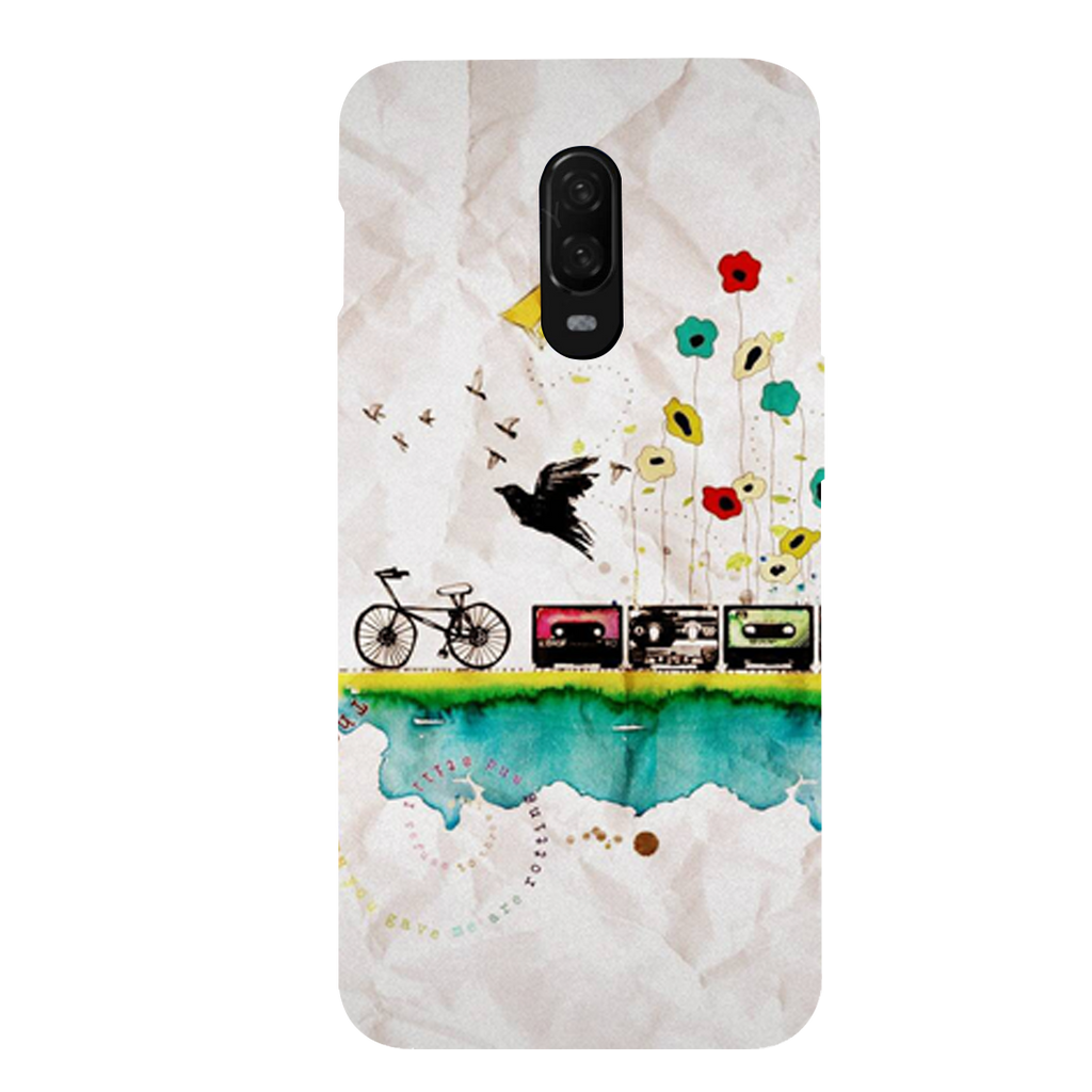 Cycle OnePlus 6T Mobile Cover