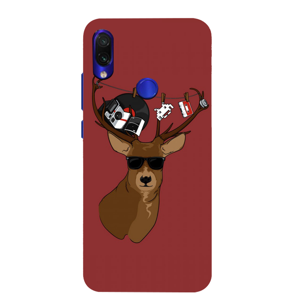 Deer Redmi Note 7 Mobile Cover