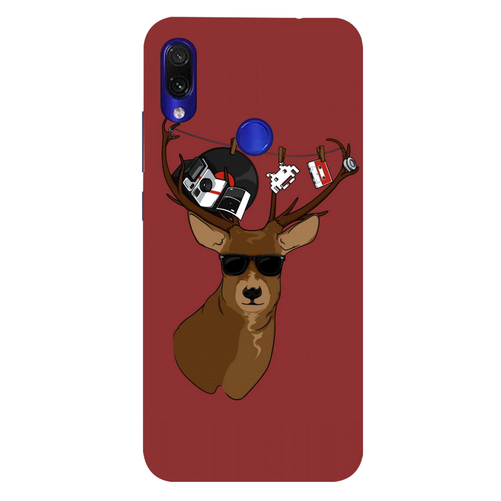 Deer Redmi Note 7 Pro Mobile Cover