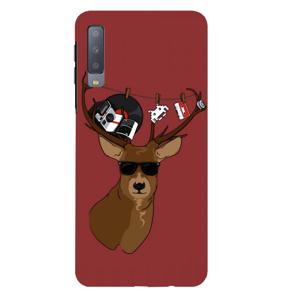 Deer Samsung A7 Mobile Cover