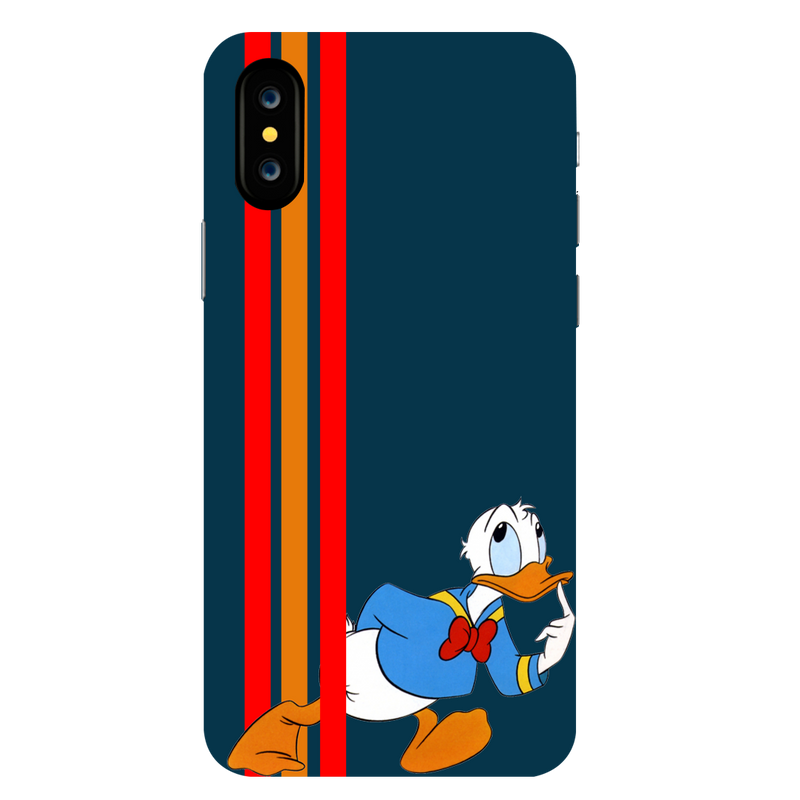 Donald Duck Apple iPhone X Mobile Cover