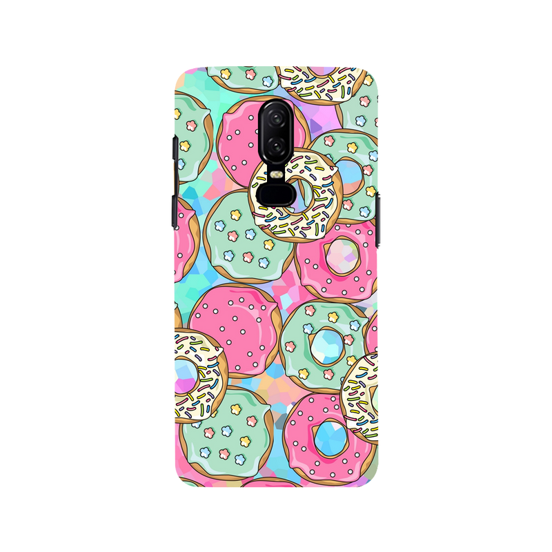 Donut OnePlus 6 Mobile Cover