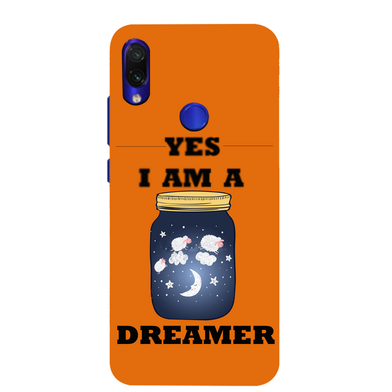 Dreamer Redmi Note 7 Mobile Cover