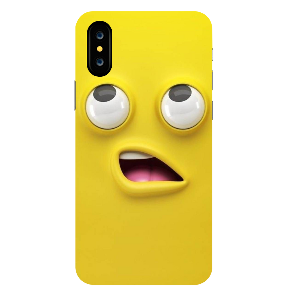 Emoji Apple iPhone X Mobile Cover