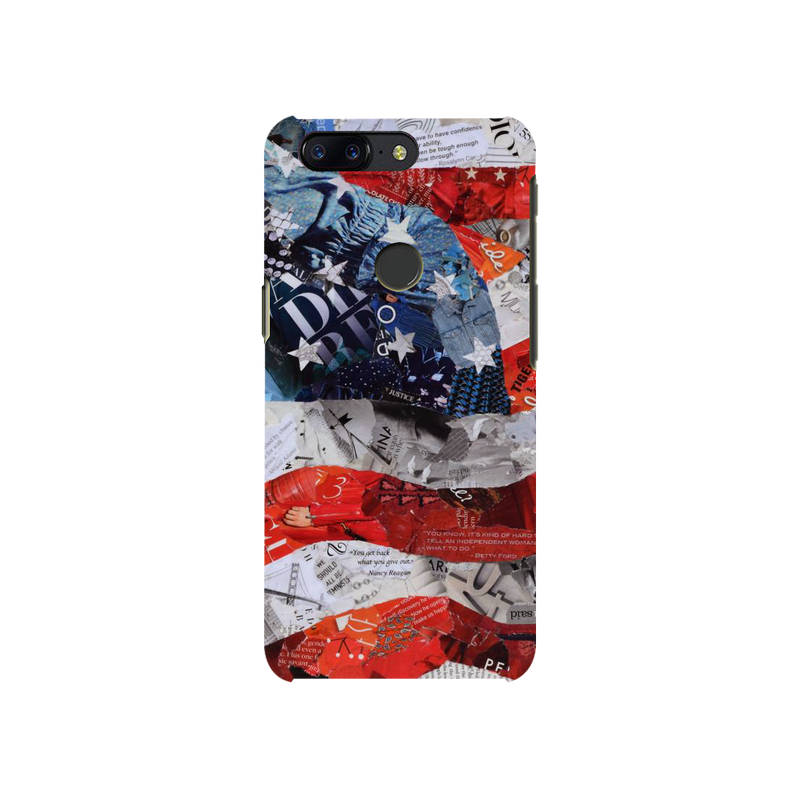 Flag OnePlus 5T Mobile Cover