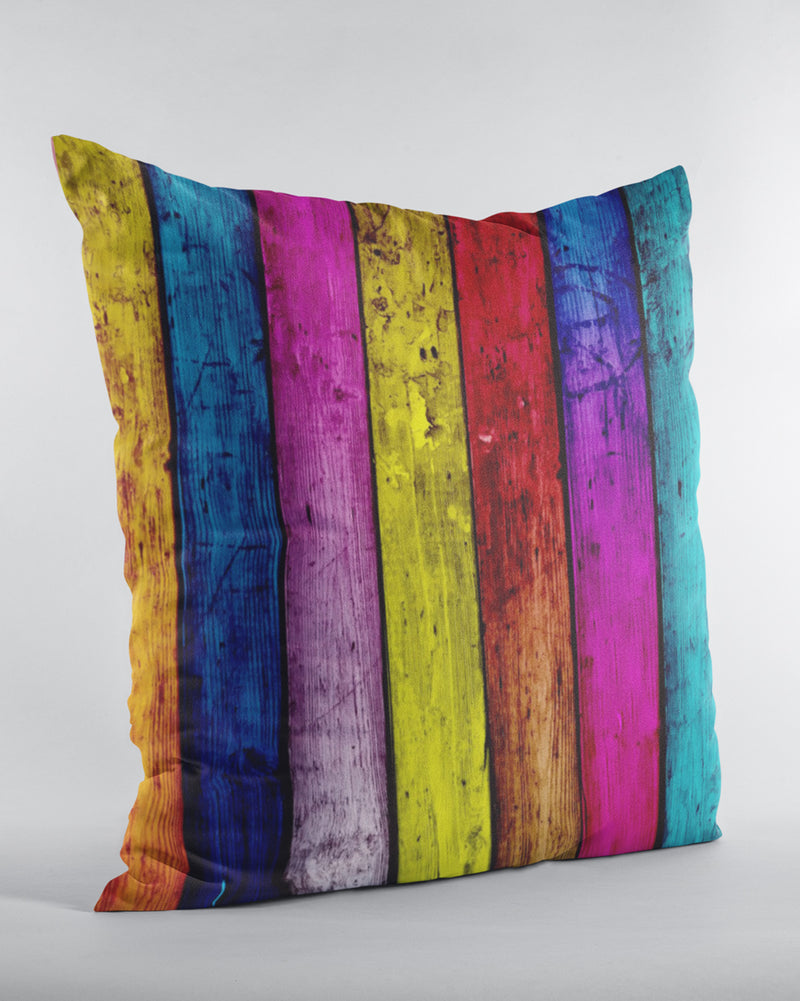 Color lines Cushion Cover