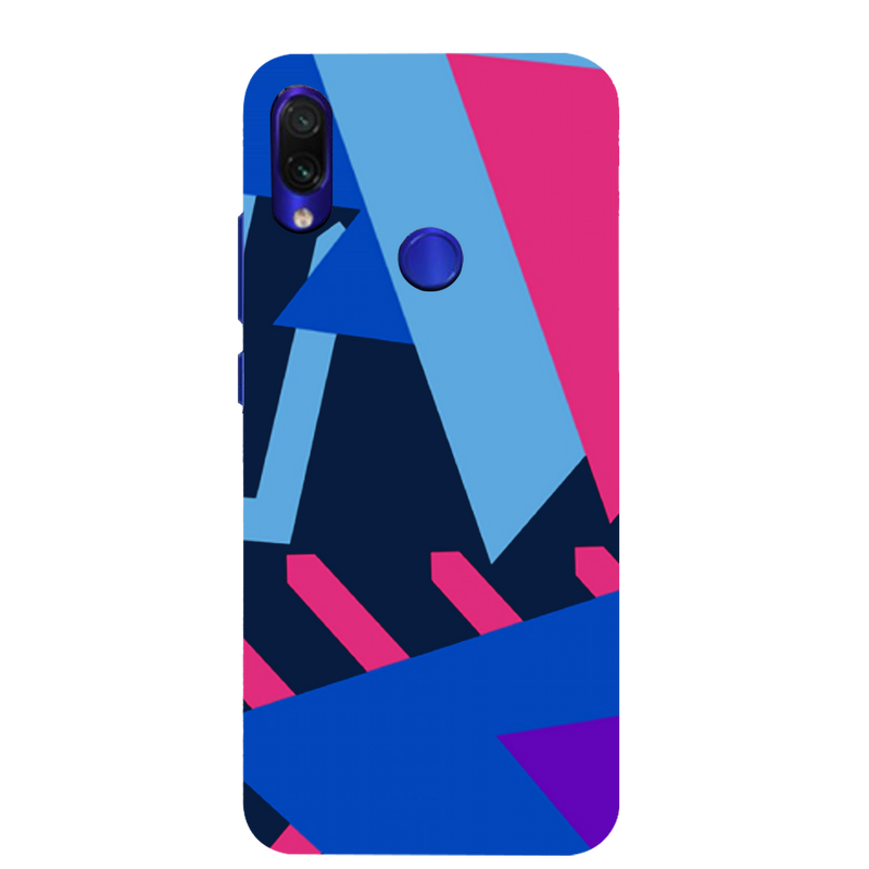 Geometrical pattern Redmi Note 7 Mobile Cover