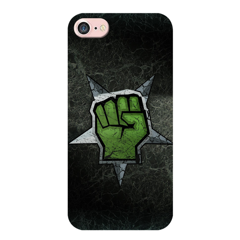 Green hand iPhone 8 Mobile Cover