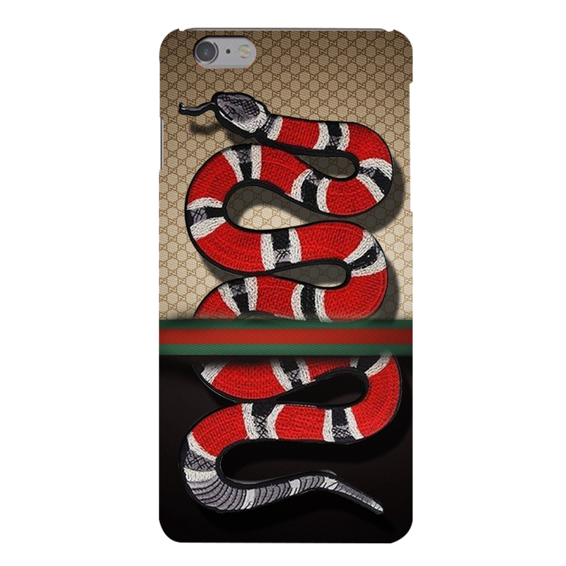 Gucci background with snake Apple iPhone 6s Plus Mobile Cover