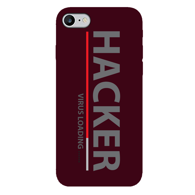 Hacker  iPhone 7 Mobile Cover