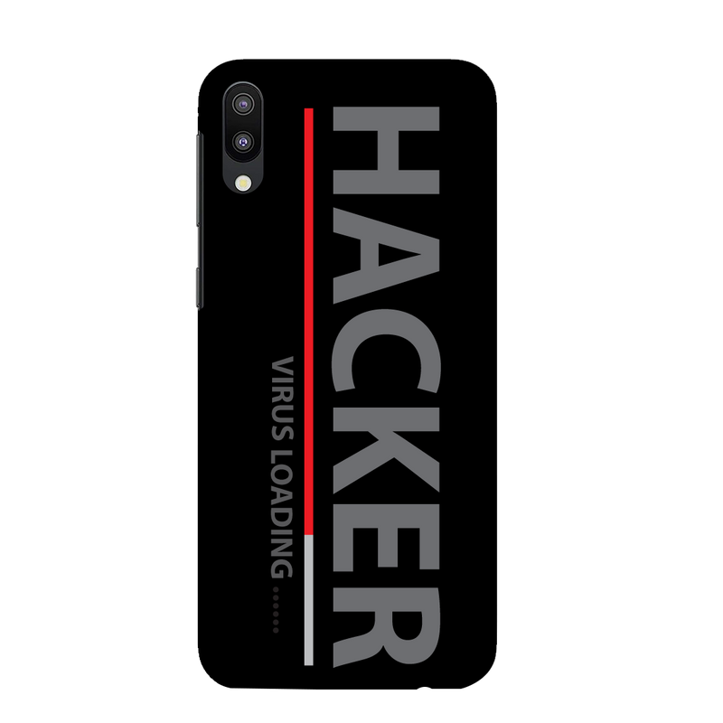 Hacker Samsung M 10 Mobile Cover