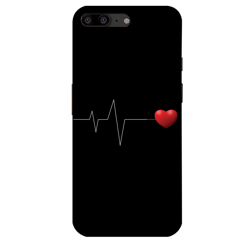 Heartbeat OnePlus 5 Mobile Cover