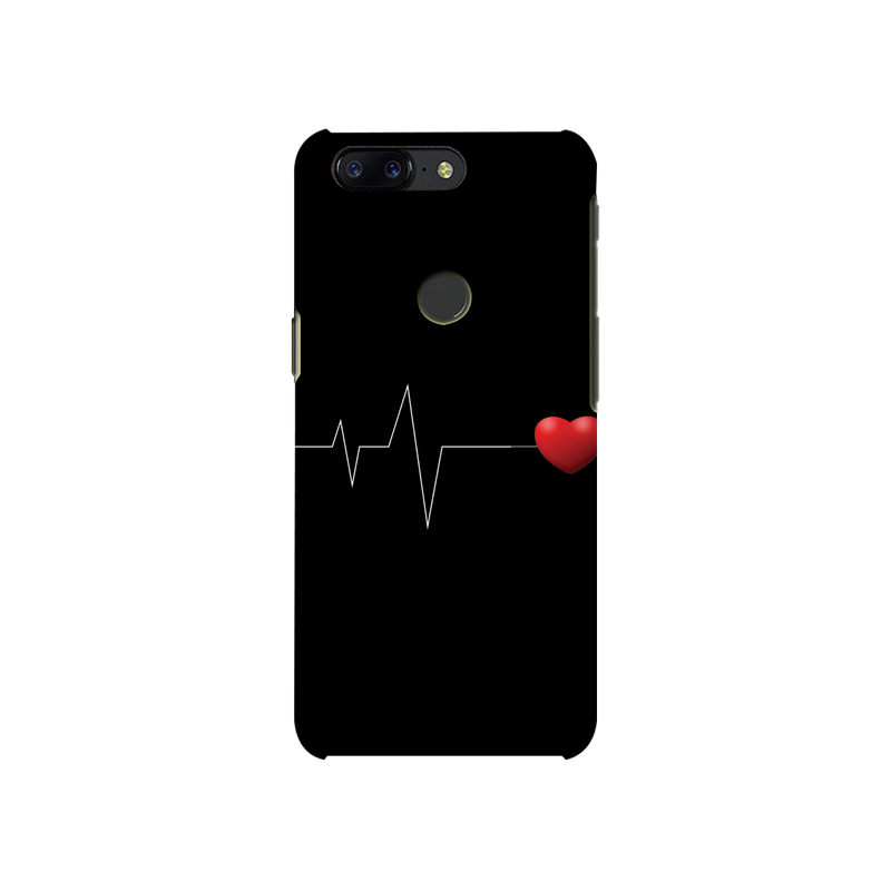 Heartbeat OnePlus 5T Mobile Cover
