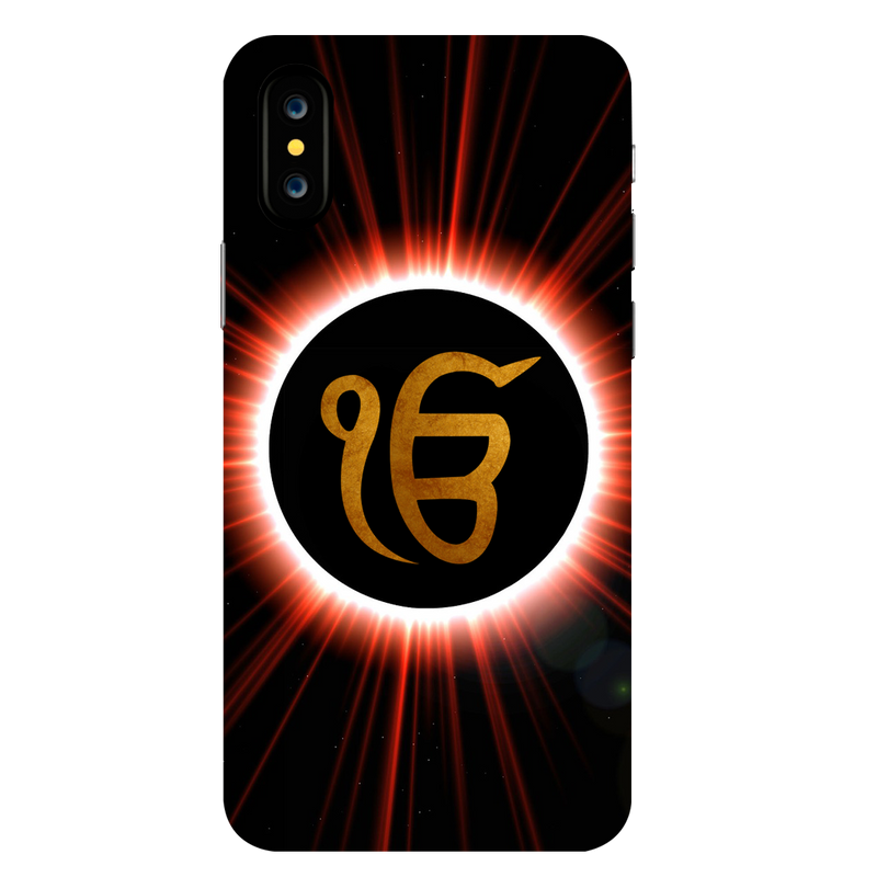 Ik Onkar Apple iPhone X Mobile Cover