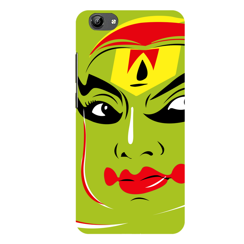 Kathakali vector face Vivo Y71 Mobile Cover