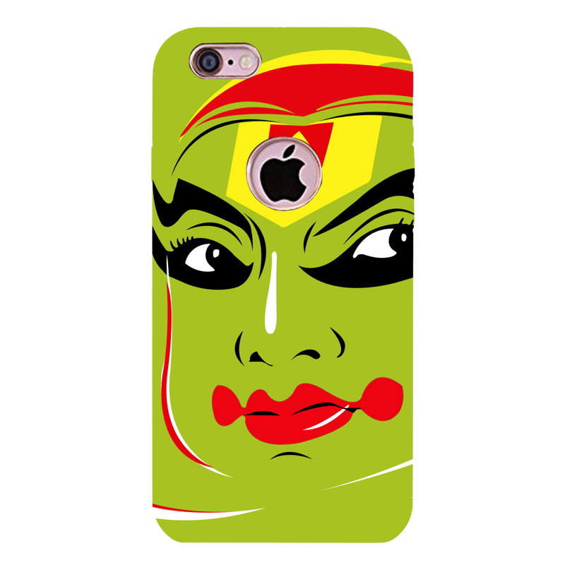 Kathakali vector face iPhone 6 Mobile Cover
