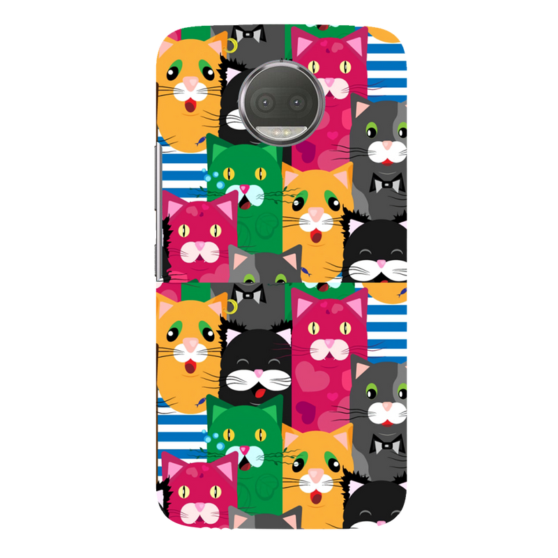 Kitty moto G5s plus Mobile Cover