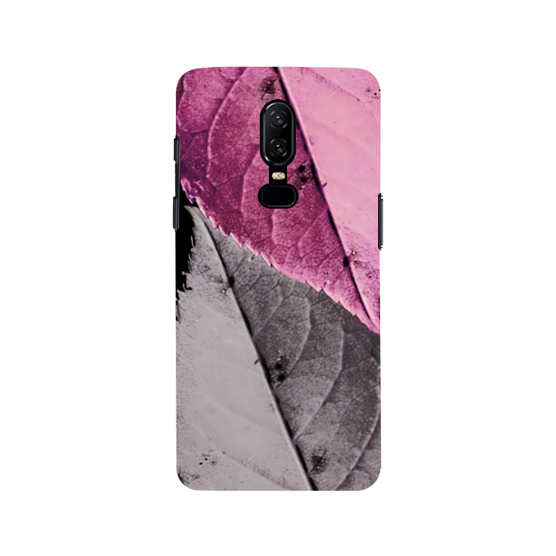 Leaf OnePlus 6 Mobile Cover