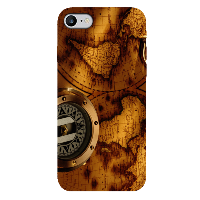 Map iPhone 7 Mobile Cover