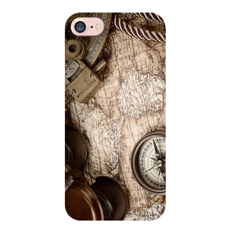 Map Apple iPhone 8 Mobile Cover