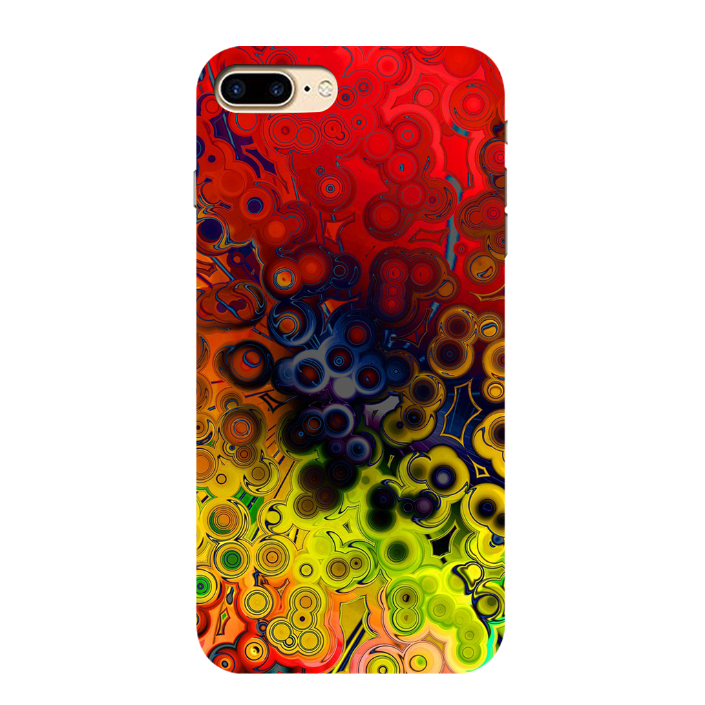 Multicolor Texture I phone 7 plus Mobile Cover