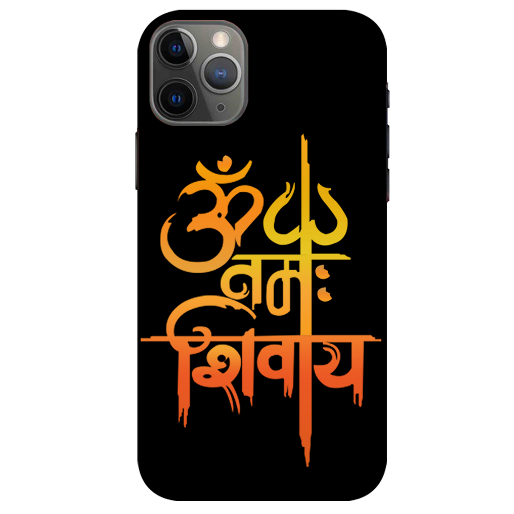Om namah shivay Apple iPhone 11 Pro Max Mobile Cover