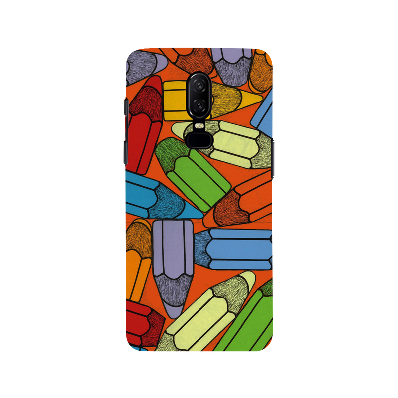 Pencil OnePlus 6 Mobile Cover