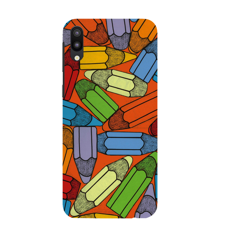 Pencils Samsung M 10 Mobile Cover