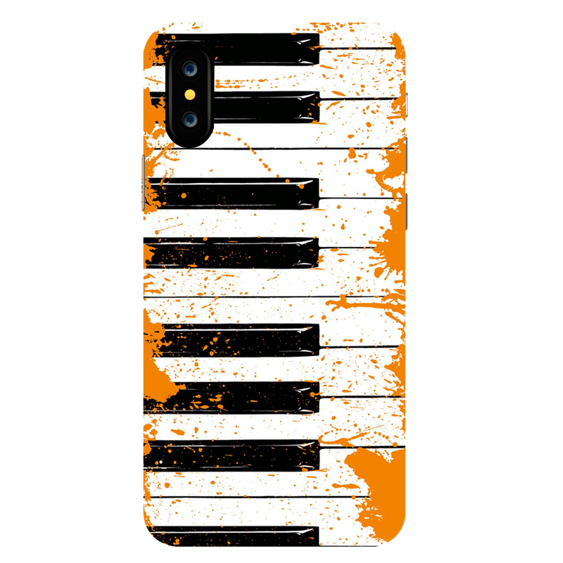Piano Apple iPhone X Mobile Cover