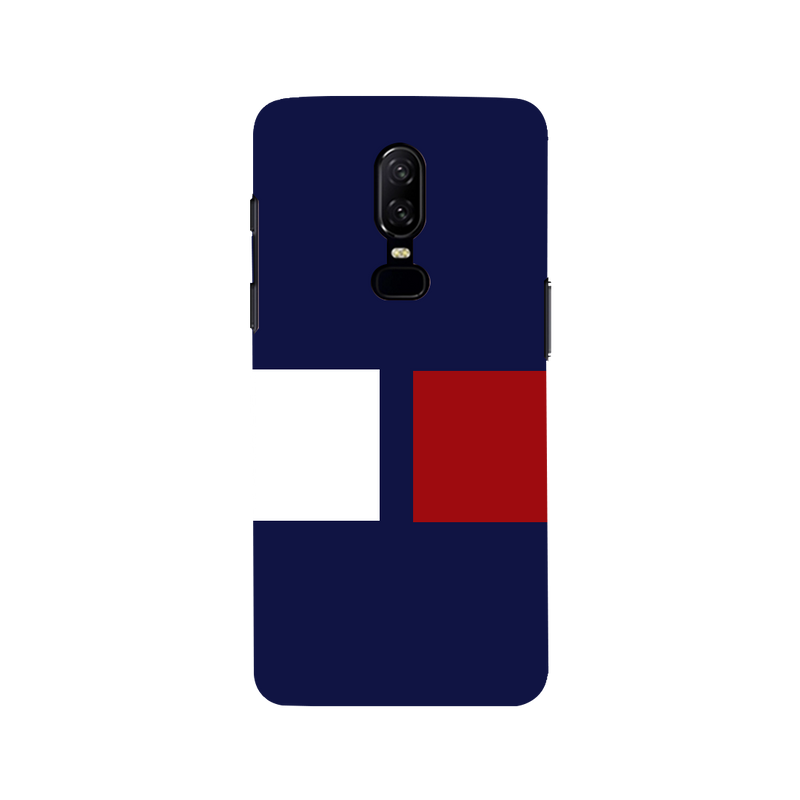 Plane color OnePlus 6 Mobile Cover