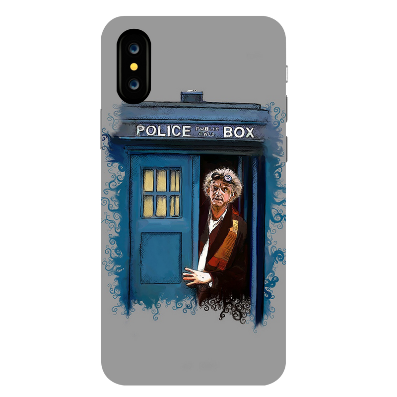 Police Box Apple iPhone X Mobile Cover
