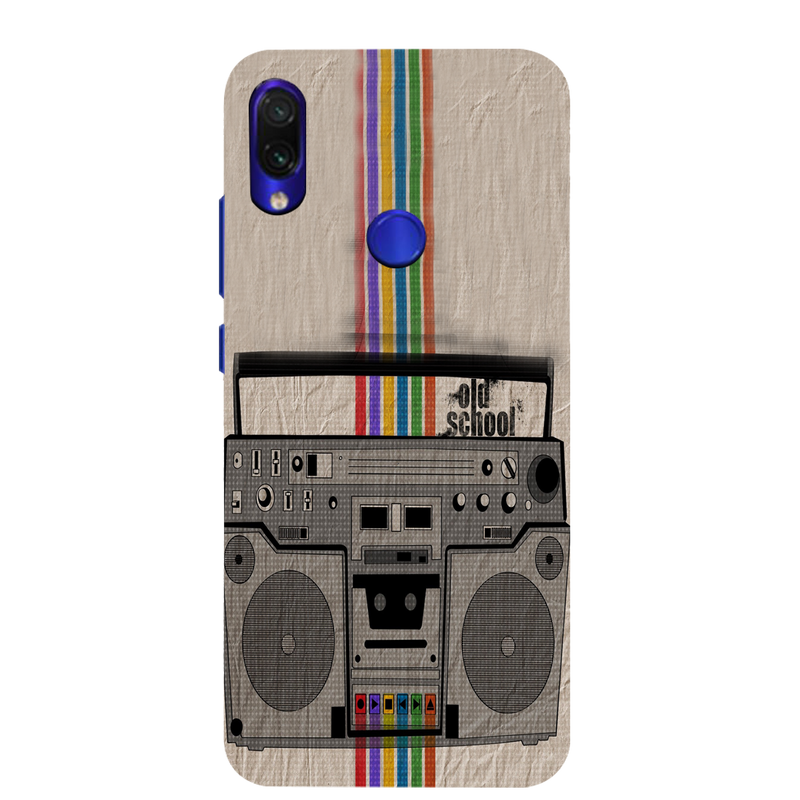 Radio Redmi Note 7 Mobile Cover