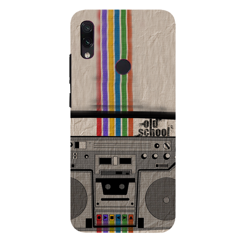 Radio Redmi 7 Mobile Cover