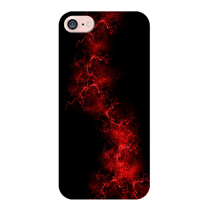 Red light background Apple iPhone 8 Mobile Cover