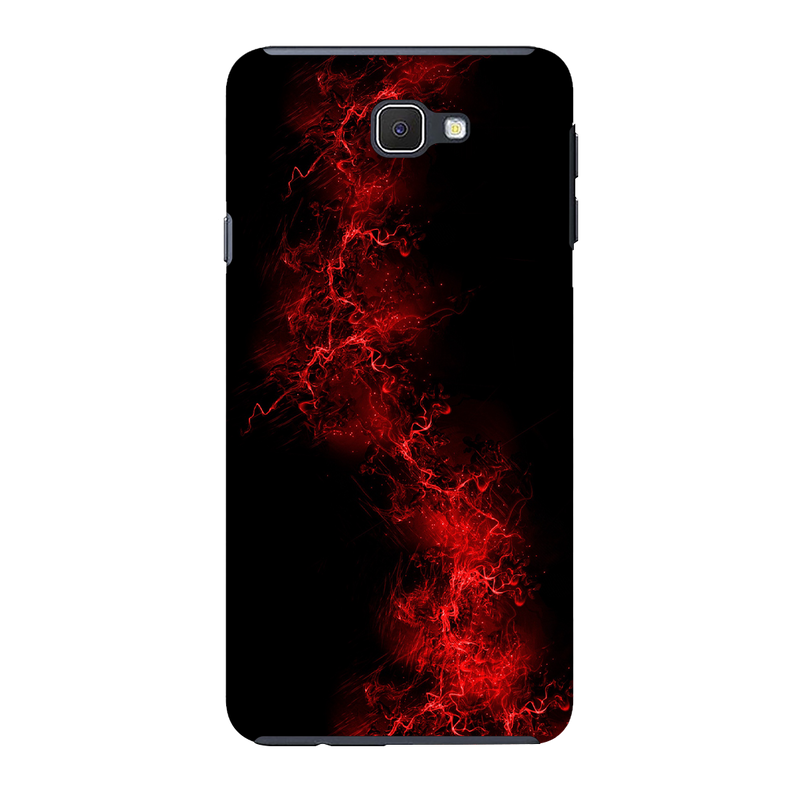 Red light background Samsung J7 Mobile Cover