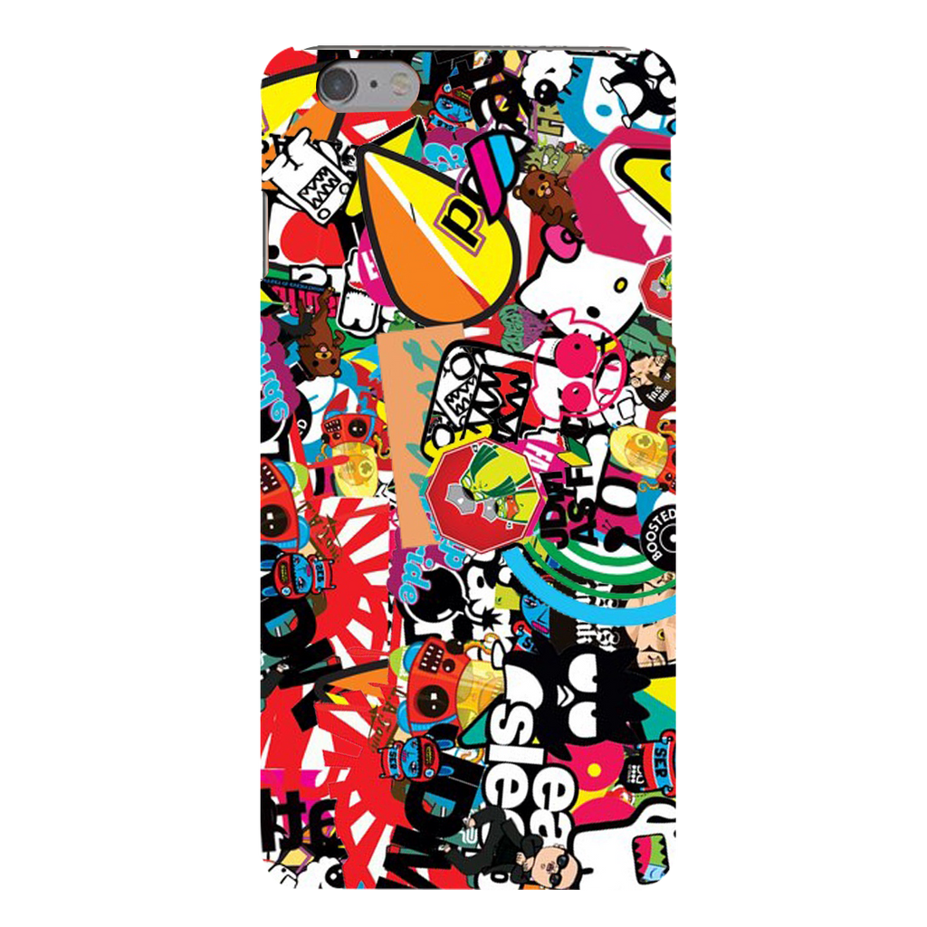 Style Sticker Texture Apple iPhone 6s Plus Mobile Cover