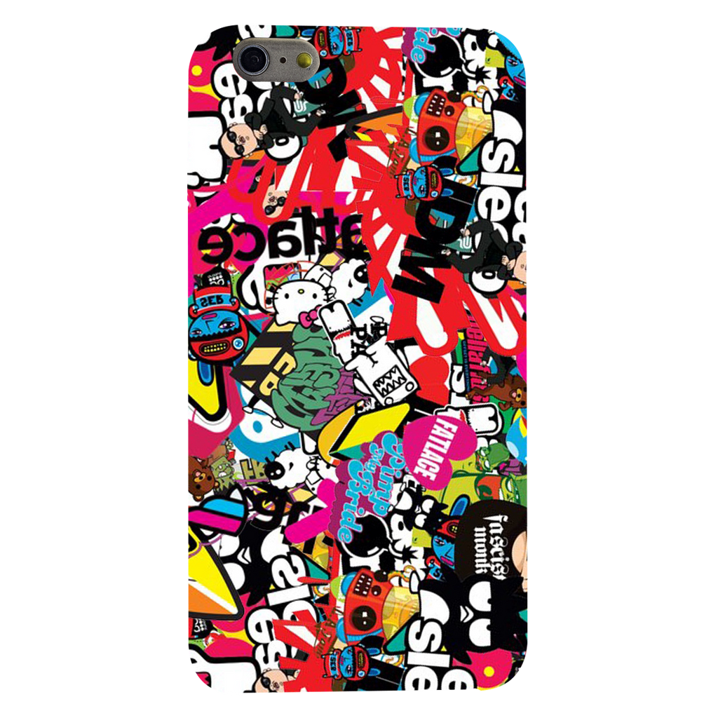 Style Sticker Texture Apple iPhone 6 plus Mobile Cover