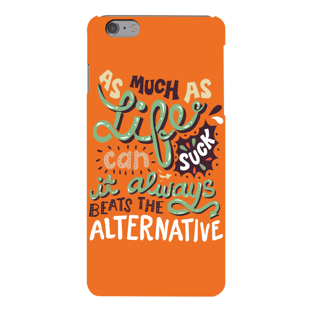 Suck Life Apple iPhone 6s Plus Mobile Cover