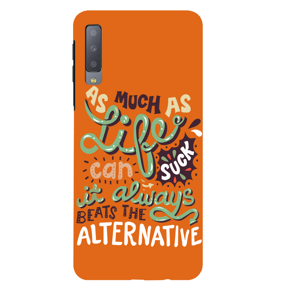 Suck Life Samsung A7 Mobile Cover