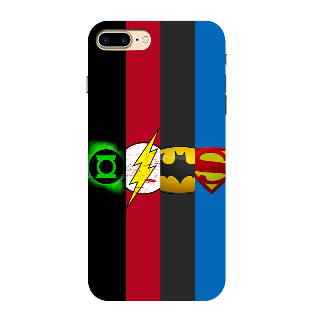 Superheroes I Phone 7 plus Mobile Cover