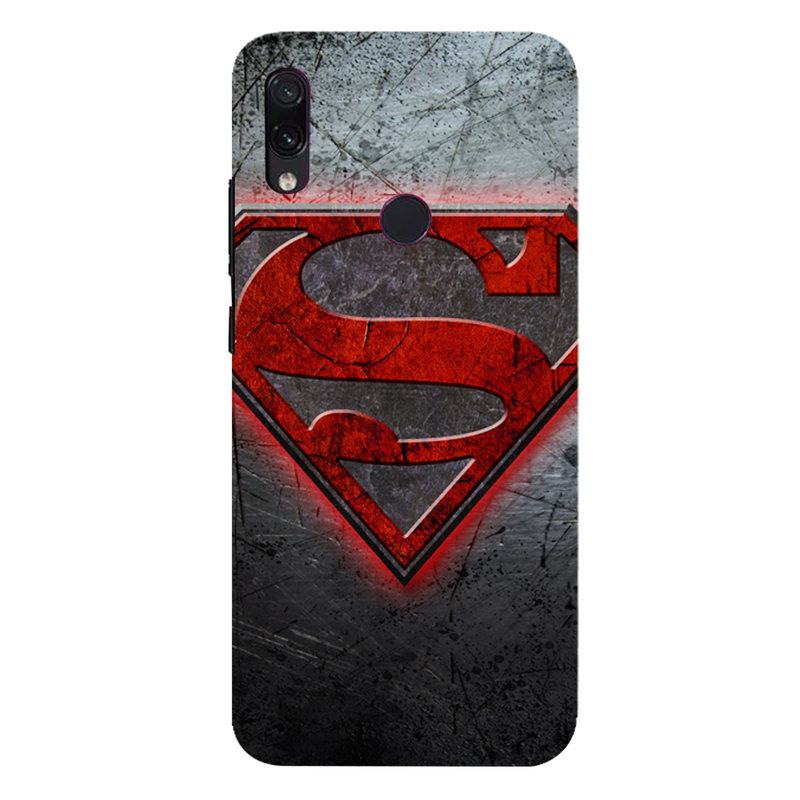Superman Redmi 7 Mobile Cover