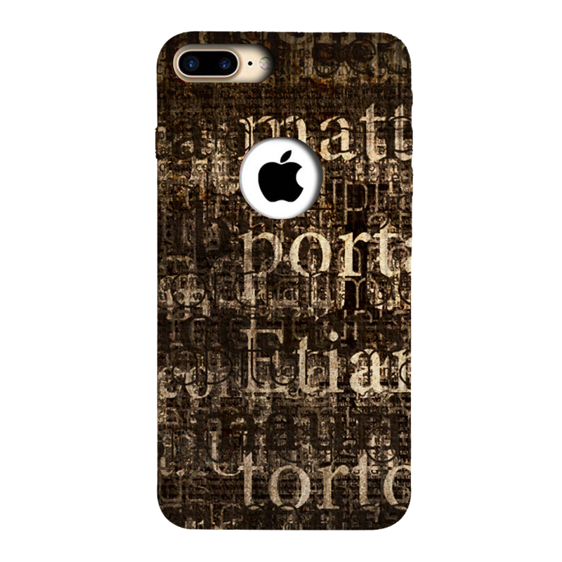 Text Apple iPhone 7 Plus Mobile Cover